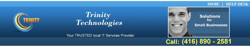 Trinity Technologies - IT Services & Computer Repairs for Toronto, Mississauga, Brampton, Etobicoke, Oakville and Milton
